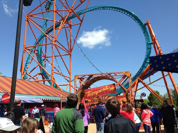 Attention Thrill Seekers, Busch Gardens Williamsburgu0027s Newest Roller Coaster,  Tempesto, Has Opened! Not For The Faint Of Heart, Tempesto Is A Whirlwind  Of A ...